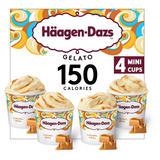 Häagen-Dazs Caramel Swirl Gelato Minicup Collection 4 x 100ml