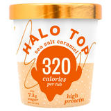 Halo Top Sea Salt Caramel Ice Cream 473ml