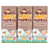 Happy Monkey Chocolate Milkshakes 3 x 200ml