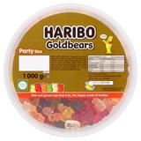 HARIBO Goldbears 1kg Drum