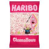 HARIBO White and Pink Mini Mallows 1kg