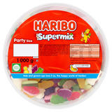 HARIBO Supermix 1kg Drum
