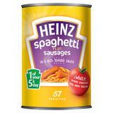 Heinz Spaghetti Plus Sausages 400g