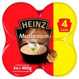 Heinz Classic Cream of Mushroom Soup 4 x 400g