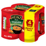 Heinz Classic Vegetable Soup 4 x 400g