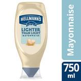 Hellmann's  Lighter than Light Mayonnaise 750ml