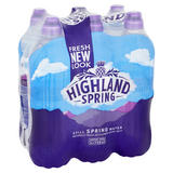 Highland Spring Still Spring Water 6 x 750ml