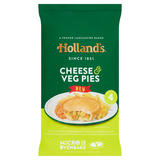 Hollands 4 Cheese & Veg Pies