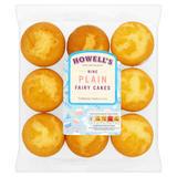 Howell's Nine Plain Fairy Cakes 280g