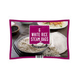 Iceland 6 White Rice Steam Bags 1.2Kg