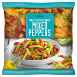 Iceland Frozen For Freshness Mixed Peppers 650g