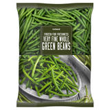Iceland Frozen For Freshness Very Fine Whole Green Beans 900g