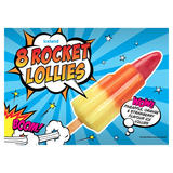 Iceland 8 Rocket Lollies 480ml