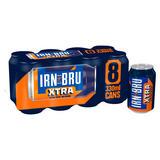 IRN-BRU Xtra 8 x 330ml Cans