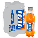 IRN-BRU Sugar Free 4 x 250ml Bottles