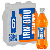IRN-BRU Sugar Free 6 x 500ml Bottles