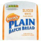 Irwin's Irish Sliced White Plain Batch Bread 800g