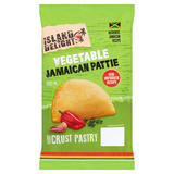 Island Delight Vegetable Jamaican Pattie Shortcrust Pastry 140g
