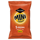Jacob's 5 Mini Cheddars Original Baked with Real Cheese 125g