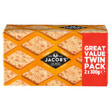 Jacob's Original and Best Cream Crackers 2 x 300g