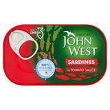 John West Sardines in Tomato Sauce 120g