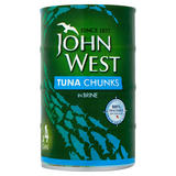 John West Tuna Chunks in Brine 4 x 145g
