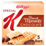 Kellogg's Special K Chocolate Biscuit Moments Snack Bar, 25g (Pack of 5)