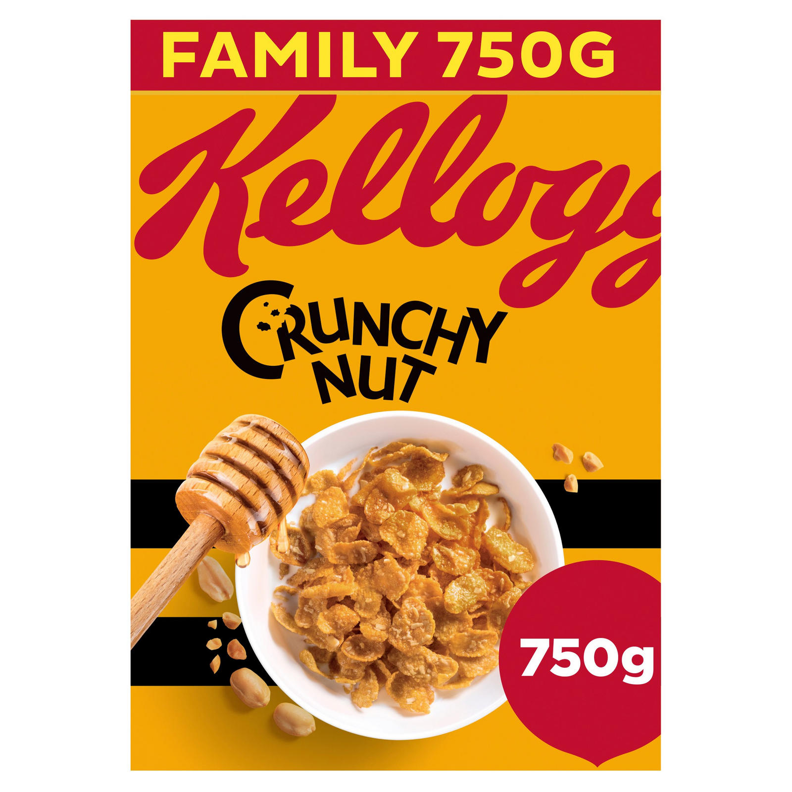 Kellogg's Crunchy Nut Corn Flakes Cereal 750g