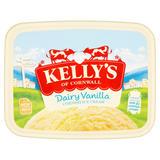 Kelly's of Cornwall Dairy Vanilla Cornish Ice Cream 2 Litres