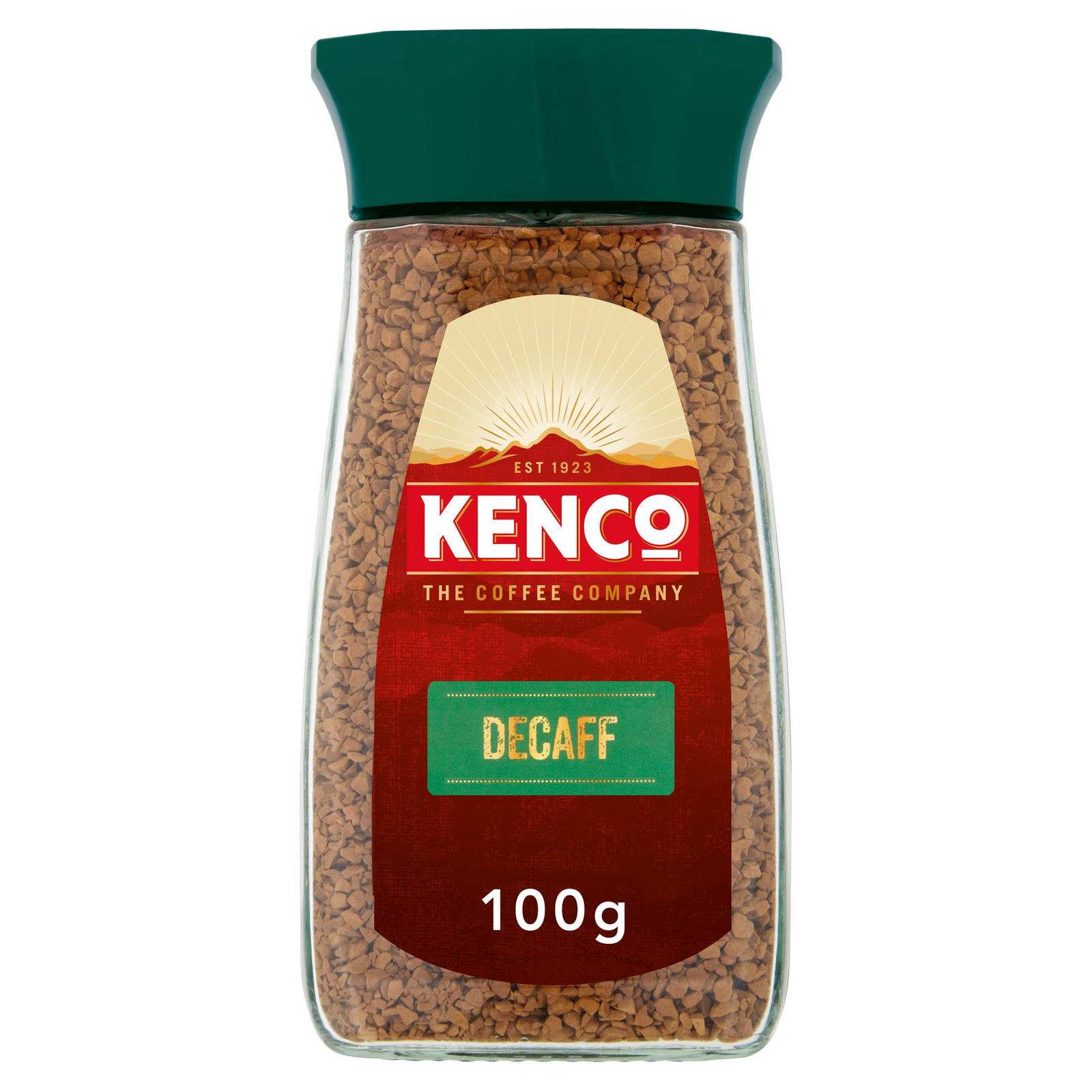 Kenco Decaf Instant Coffee 100g Instant Ground Coffee