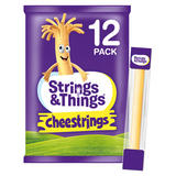 Strings and Things Cheestrings 12 Pack 240g