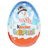 Kinder Surprise Christmas Egg 100g