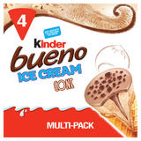 Kinder Bueno Ice Cream Cones 4 x 90ml