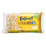 Kingsmill 6 Thins 50/50