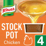 Knorr  Chicken Stock Pot 4 x 28g