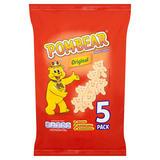 Pom-Bear Original Potato Snacks 5 x 15g