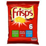Frisps Variety Pack 6 x 25.5g