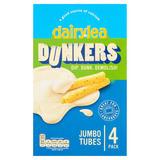 Dairylea Dunkers Jumbo Tubes 4 Pack 188g
