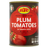 KTC Plum Tomatoes in Tomato Juice 400g