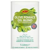 KTC Olive Pomace Oil Blend with Spanish Olives 5 Litres