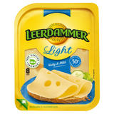 Leerdammer® 8 Light Natural Cheese Slices 160g
