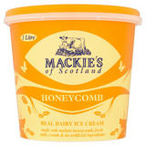 Mackie's of Scotland Honeycomb Real Dairy Ice Cream 1 Litre