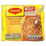 MAGGI 3 Minute Instant Curry Flavour Noodles 4 x 59g