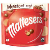 Maltesers Fairtrade Chocolate More to Share Pouch 189g