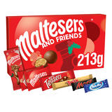 Maltesers and Friends Chocolate Large Christmas Selection Box 213g