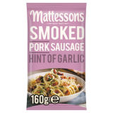 Mattessons Smoked Pork Sausage Hint of Garlic 160g