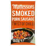 Mattessons Smoked Pork Sausage Twist of Chili 160g