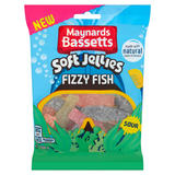 Maynards Bassetts Fizzy Fish Sweets Bag 160g