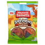 Maynards Bassetts Soft Jellies Wild Safari Sweets Bag 160g