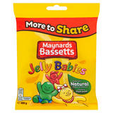 Maynards Bassetts Jelly Babies Sweets Bag 400g